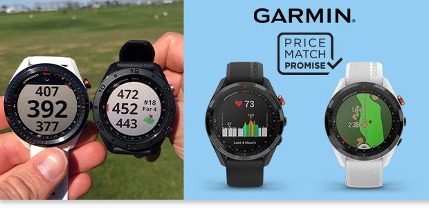 New for 2020 - Garmin Approach S62 watch