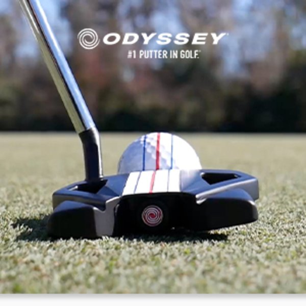 Odyssey Stroke Lab Triple Track putters