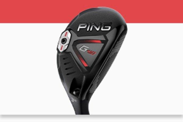PING G410 hybrids