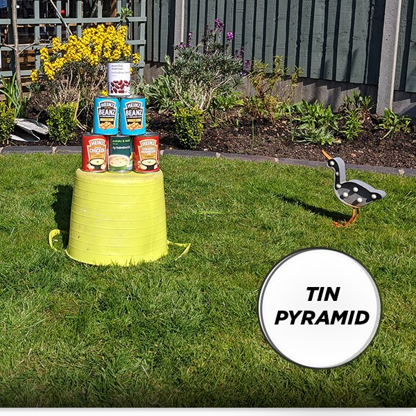 Weekly Challenge - Tin Pyramid