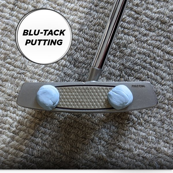 Blu-Tack putting