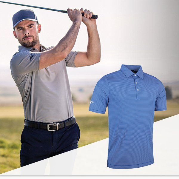 Glenmuir spring/summer clothing - available through your local pro shop