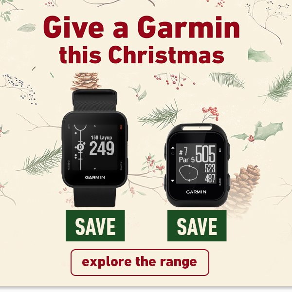 Give a Garmin G10 & S10 reduced prices