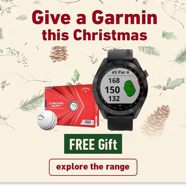 Give a Garmin free Callaway golf balls offer