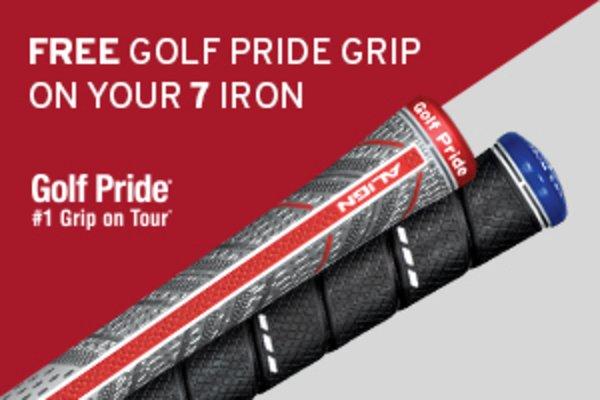 Golf Pride promo