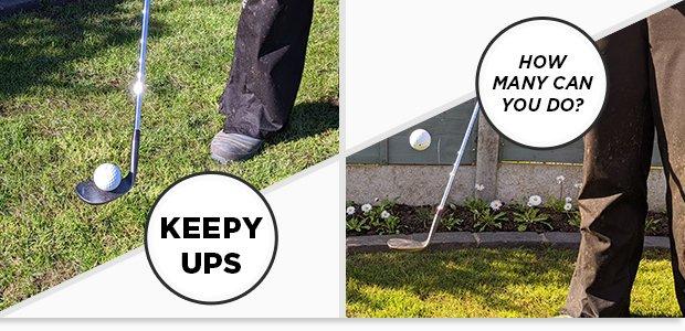 Keepy Ups - How many can you do?
