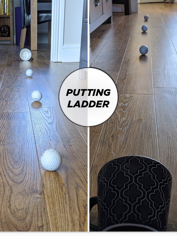 Putting drill - try this at home!