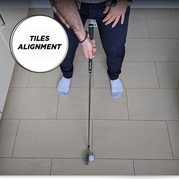 Golf at Home - Tiles Alignment