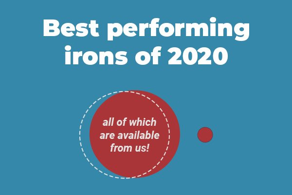 Best irons of 2020 banner