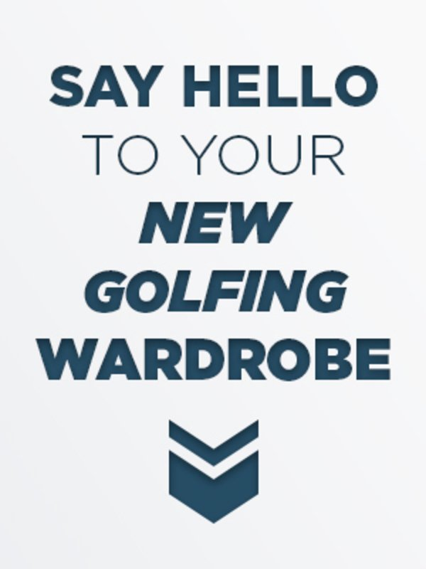 2020 men's golf clothing - what's available in your pro shop
