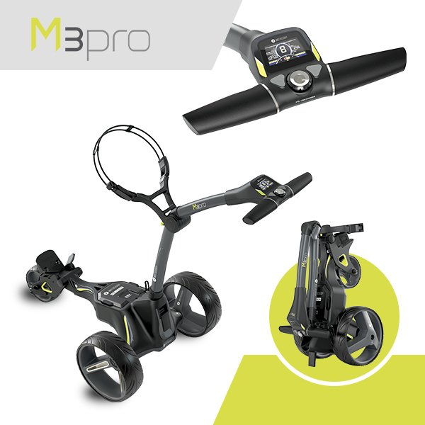 Motocaddy M3 PRO electric trolley